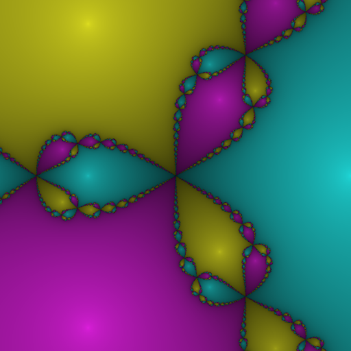 A smoother fractal with a smoother gradient