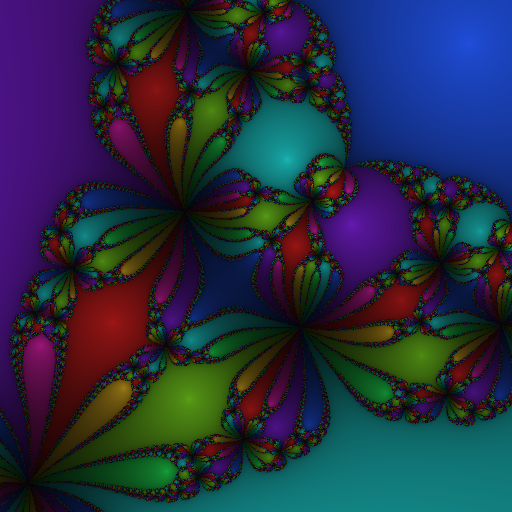 Example of a newton fractal